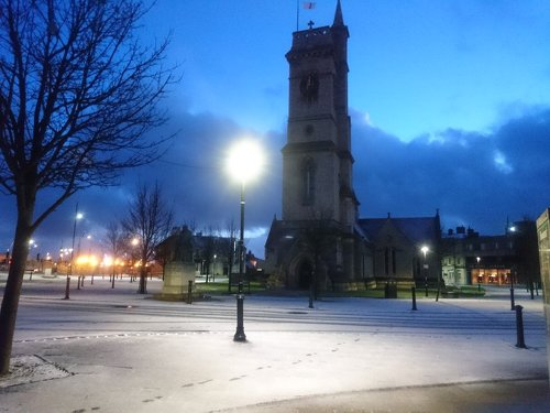 Snowy Christchurch 02